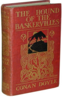 "Erstausgabe ""The Hound of the Baskervilles"""