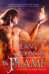 "Cover - ""The Flame"" von Jean Johnson"