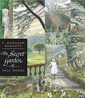 "Cover ""The Secret Garden"" with illustrations by Inga Moore"