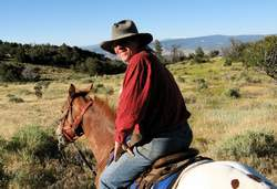 Douglas Preston as Lone Rider