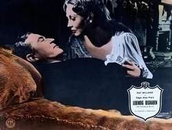 Ray Milland und Hazel Court in PREMATURE BURIAL (Lebendig begraben)