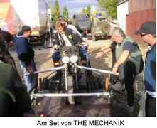 Am Set von THE MECHANIK