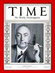 Edgar Wallace auf dem TIME-Magazine