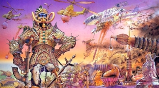 Patrick Woodroffe & Dave Greenslade: The Pentateuch of the Cosmogony