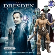 DVD Cover THE DRESDEN FILES