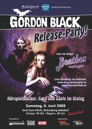 Die Gordon Black Release Party