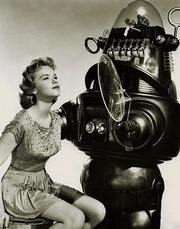 Anne Francis in Forbidden Planet