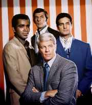 Mission Impossible Team mit Peter Graves