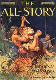 Tarzan of the Apes in The All-Story