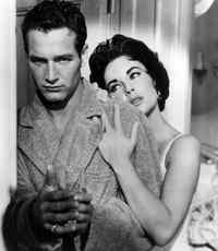 Paul Newman und Elizabeth Taylor in CAT ON A HOT TIN ROOF