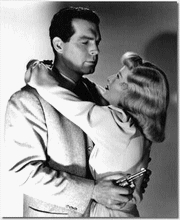 MacMurray und Barbary Stanwyk in Double Indemit