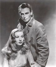 Alan Ladd mit Veronica Lake