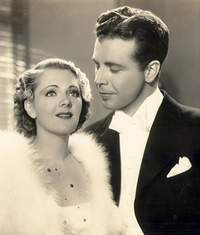 "Dick Powell und Joan Blondell in ""Dames"""