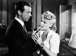 Dick Powell mit Claire Trevor in MURDER, MY SWEET