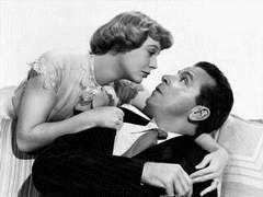 Dick Powell mit seiner frau June Allyson in THE REFORMER AND THE REDHEAD (Das Raubtier ist los)