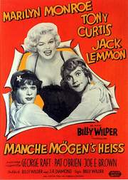 Plakat zu SOME LIKE IT HOT (Manche mögens heiß)