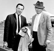 Jack Lemmon und Billy Wilder