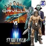 Star Trek Discovery versus The Orville