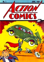 Action Comics war durch Superman sofort ein Hit