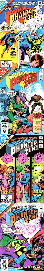 "Die 1982er Mini-Serie ""Phantom Zone"""