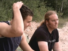 Best Buddies: Barmann Trent (links) und Ex-Junkie Jeremy